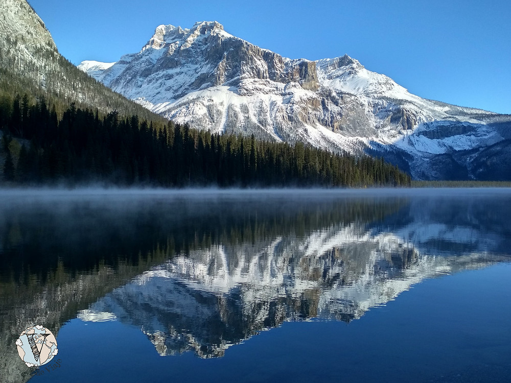 lago esmeralda banff emerald