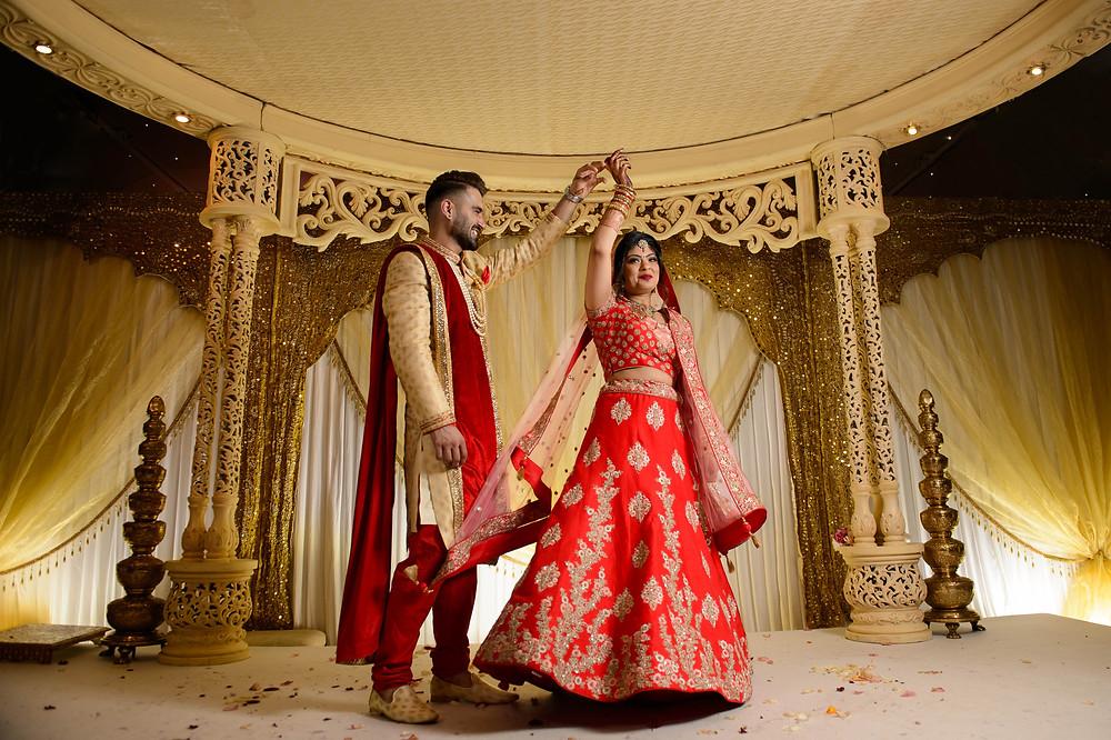 Nishma & Kashyap | Hindu Wedding | Painshill Conservatory