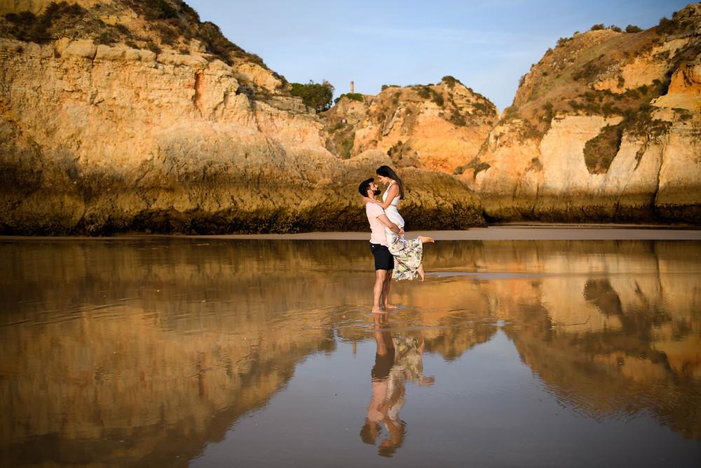 Neha & Rajan | Engagement Shoot | Algarve, Portugal
