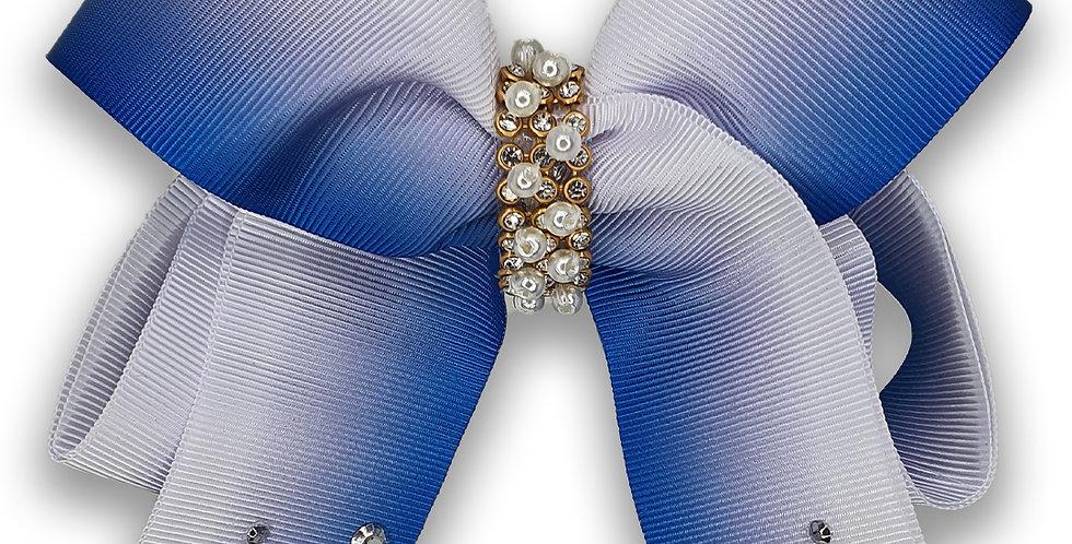 Laço Luxo Azul Degrade