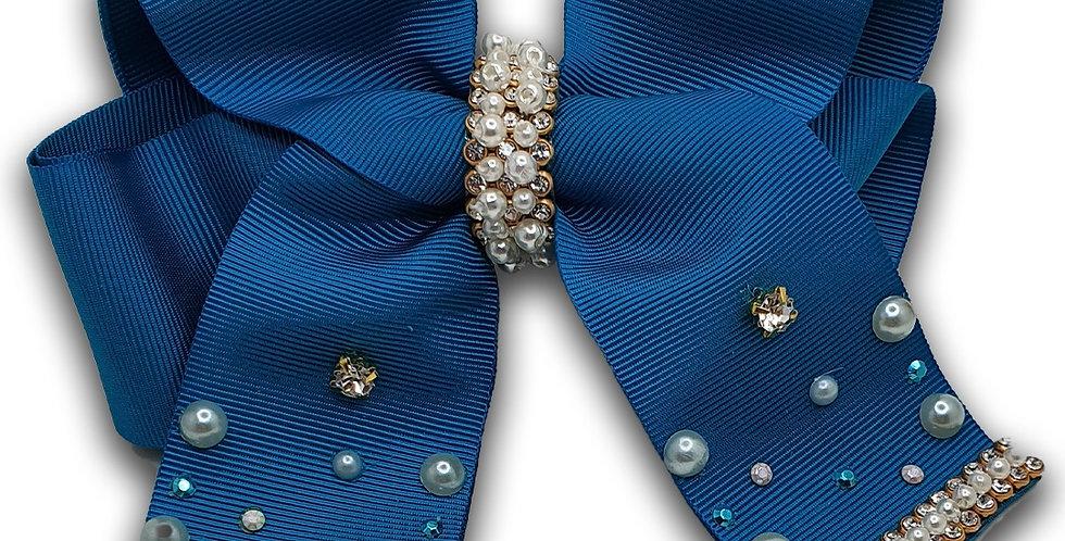 Laço Luxo  Azul Turquesa
