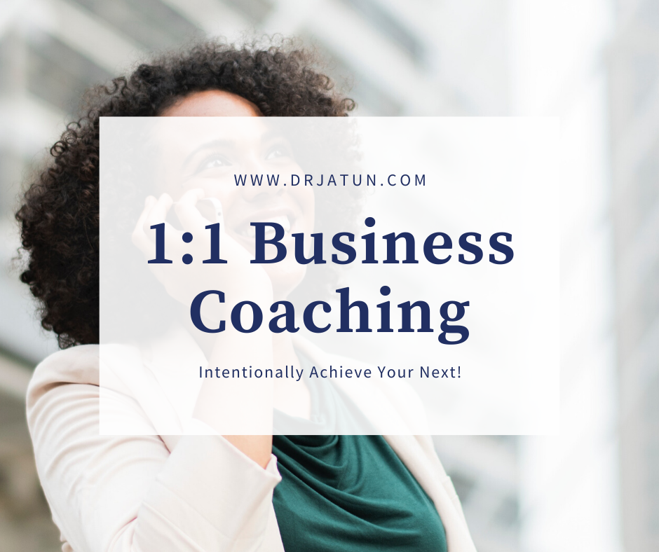 1:1 Business Coaching Session