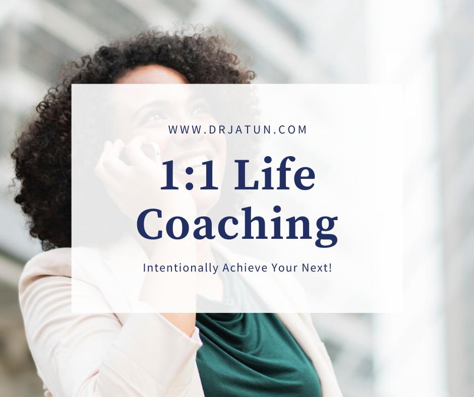 1:1 Life Coaching Session