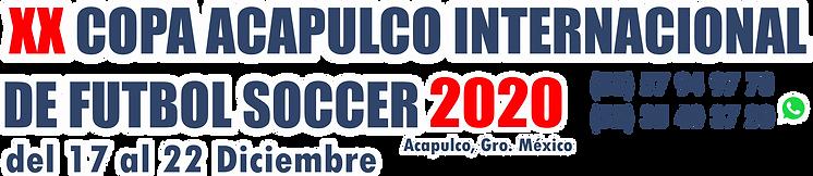 ENCABEZADO COPA ACAPULCO DICIEMBRE 2020