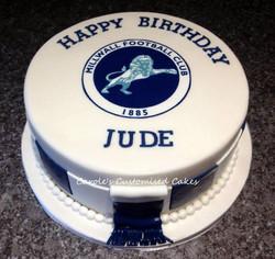 Football fan Millwall cake