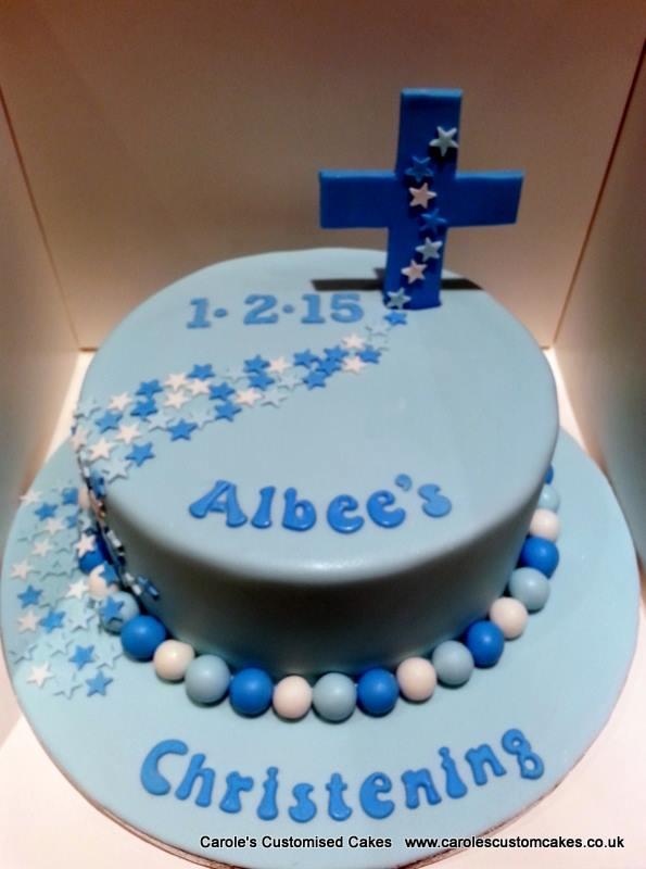 Albee Christening Cake