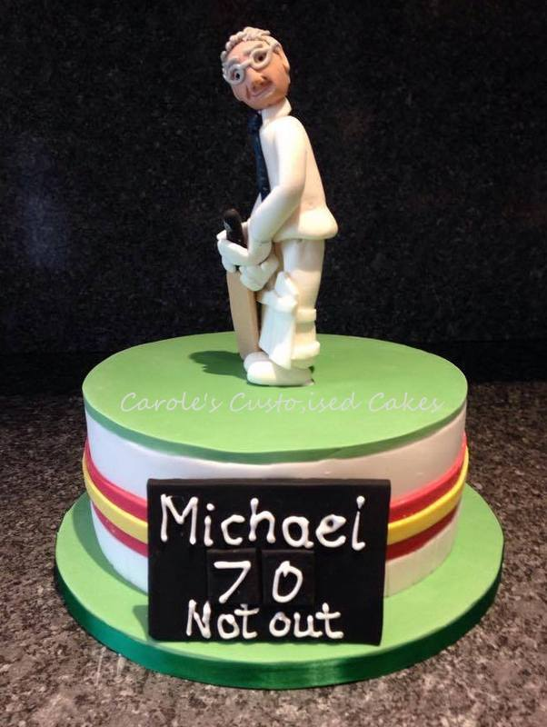 MCC cricket cake