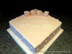 Lily Christening Cake