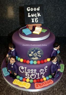 Year 6 leavers cake