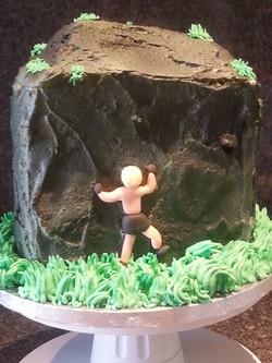 Climber cake