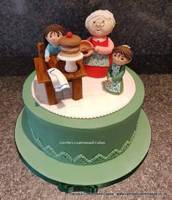 Baking with Granny birthday cake