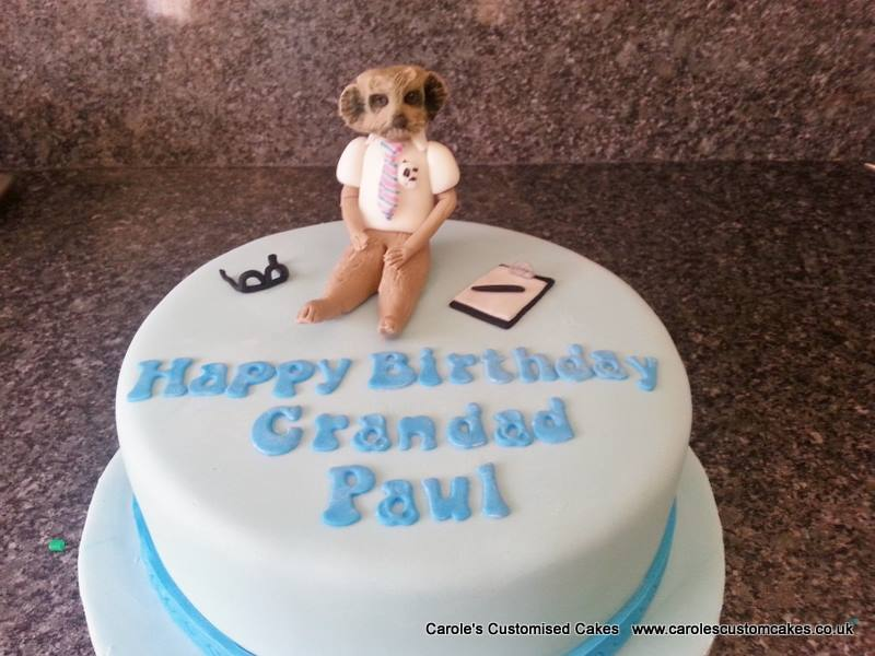 Sergei the Meerkat cake