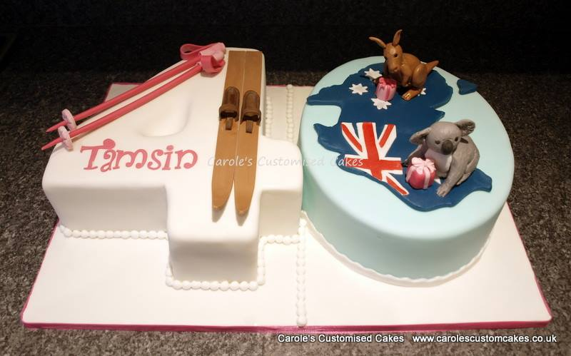 Tamsin 40 cake