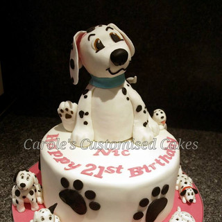 dalmation 21st birthday cake.jpg
