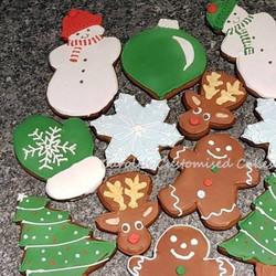 Christmas cookie selection