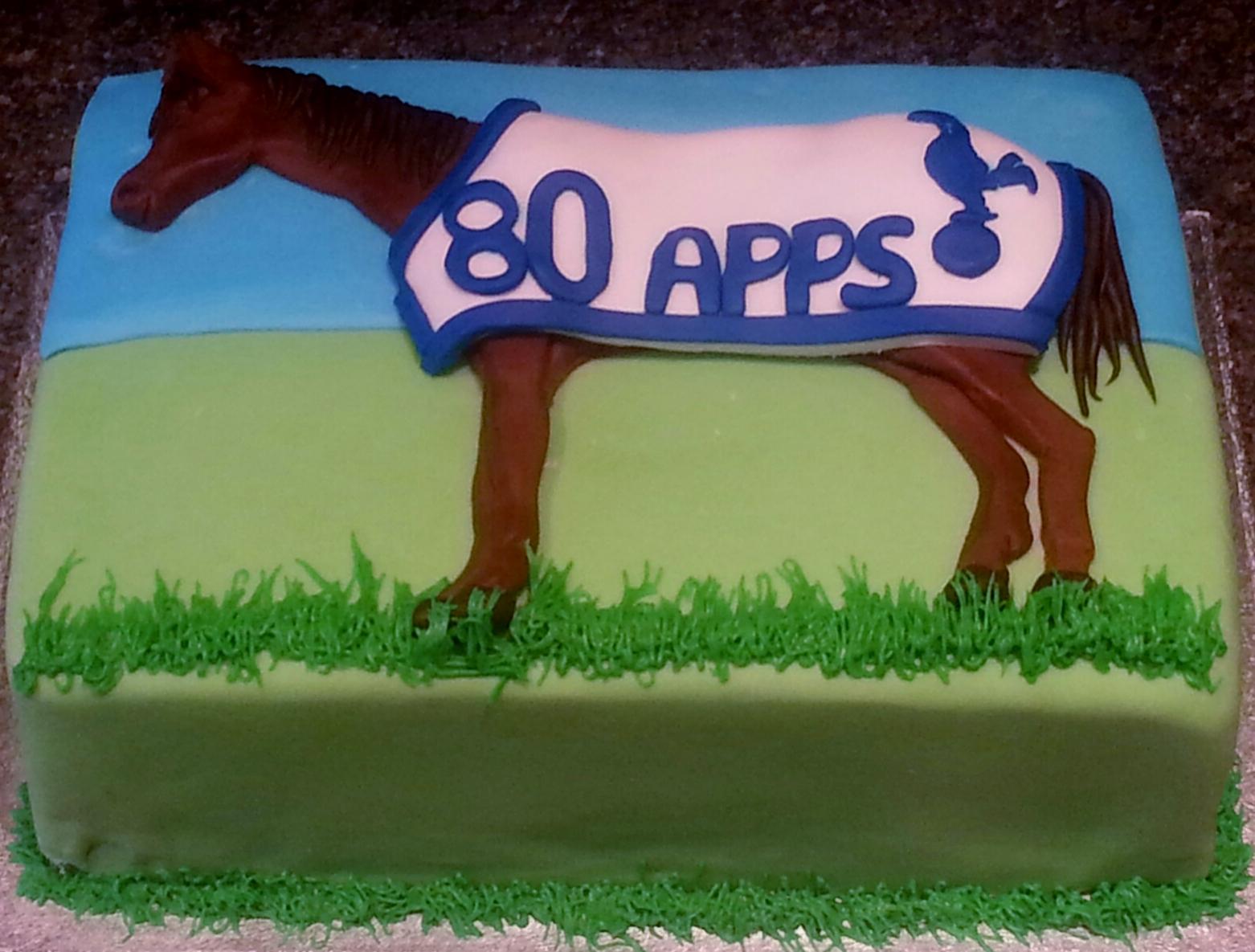 Horse age cake