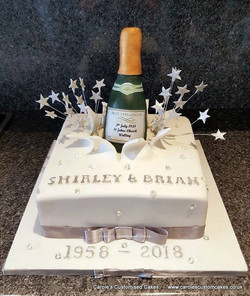 champagne diamond wedding anniversary ca