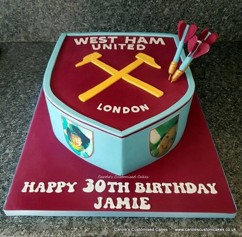 West Ham United cake