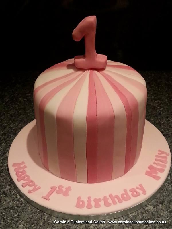 Stripey cake