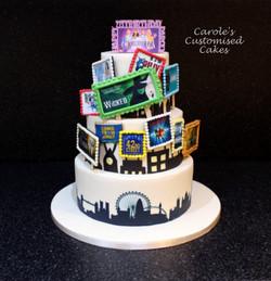 west End Musicals cake