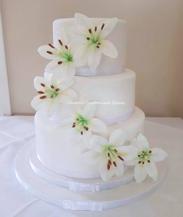 Annie wedding cake
