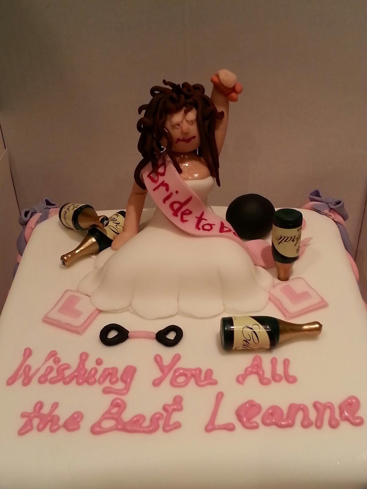 Drunken Hen  cake