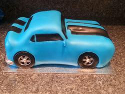 Muscle car cake
