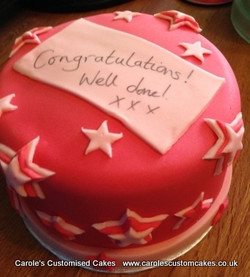 You're a star!  cake