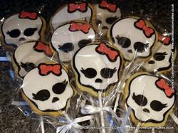 Monster High cookies