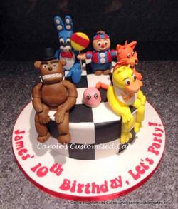 Freddy cake