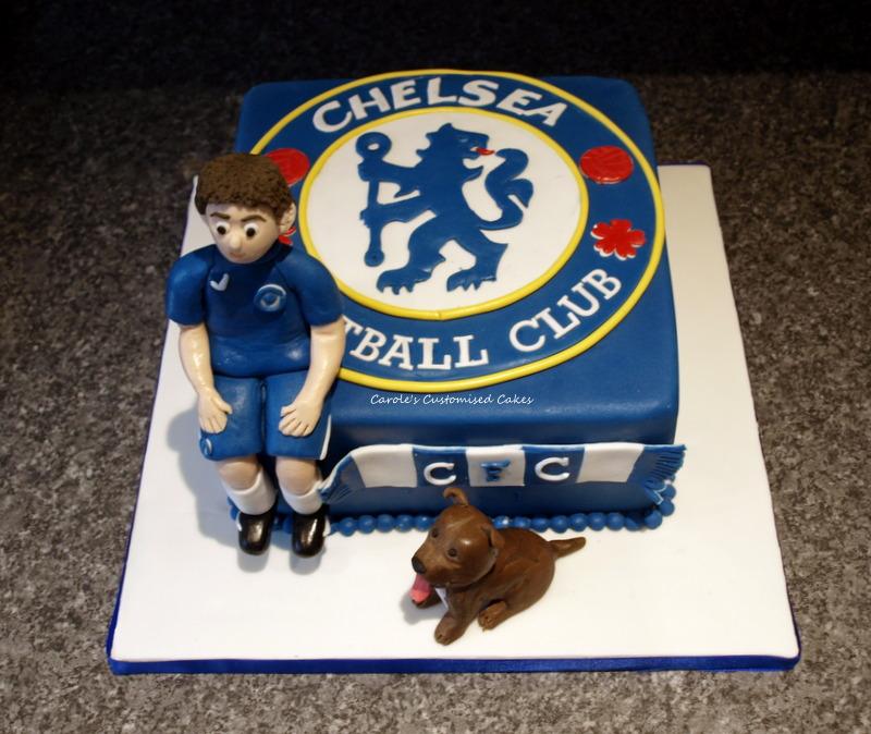 Chelsea badge cake