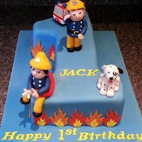 fireman number one cake.jpg