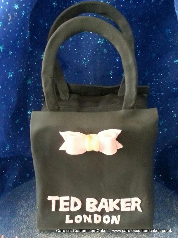 Ted Baker black bag cake
