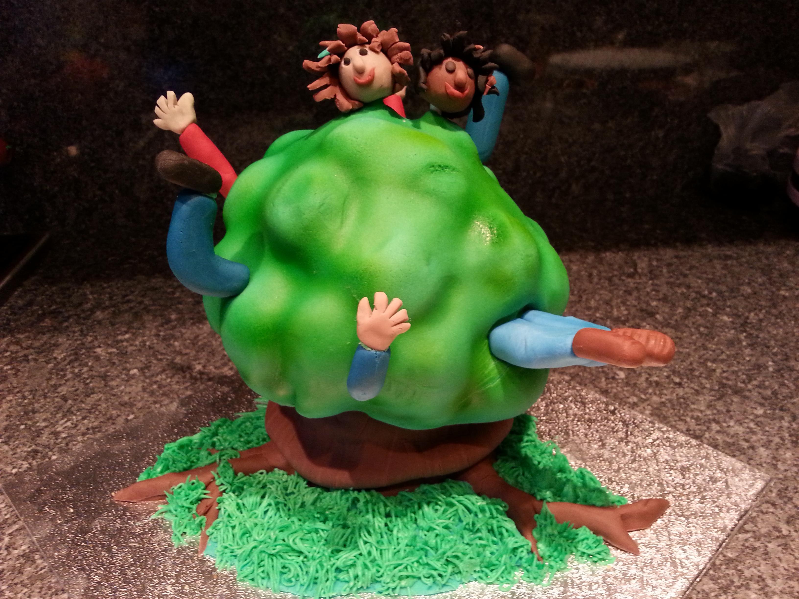 Go Ape! cake