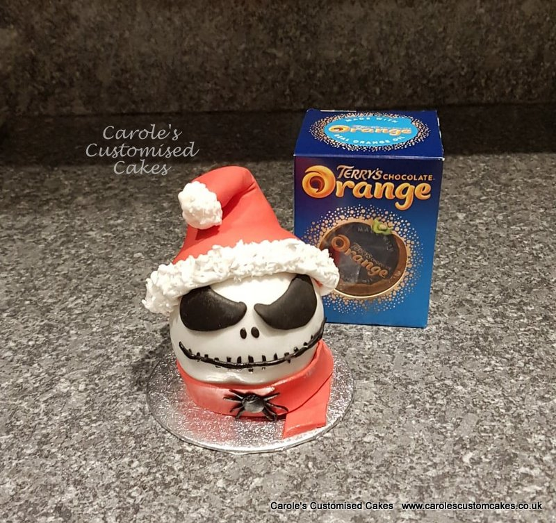 Jack Skeleton Terry's chocolate orange