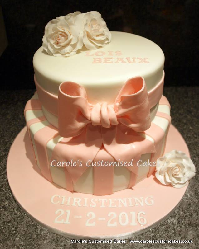 Lois Christening Cake
