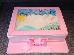 Edible print cake