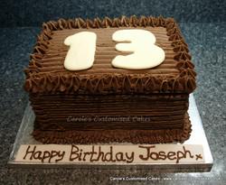 Chocolate age cake