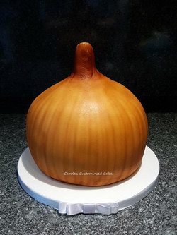 Onion cake