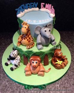 safari themed cake