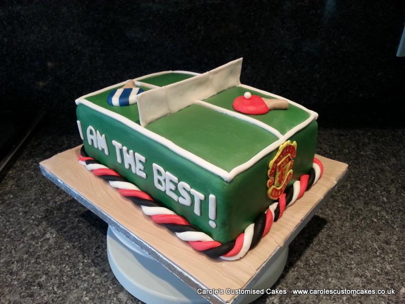 Table Tennis cake