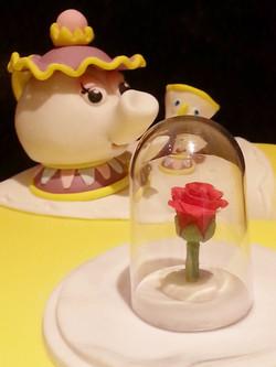 Rose and tea set