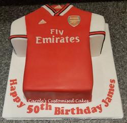 Arsenal shirt