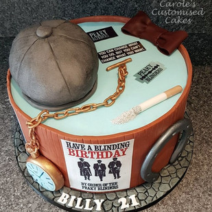 Billy 21st cake