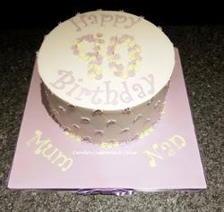flower age cake
