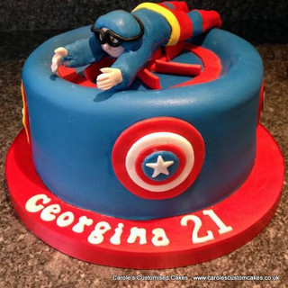 indoor skydiving 21st cake