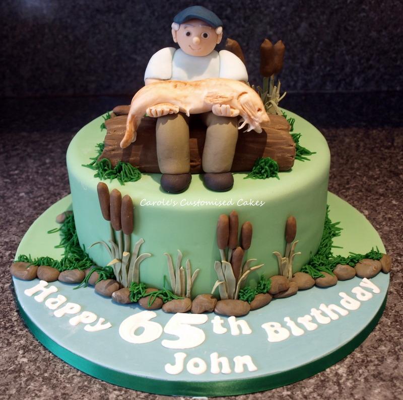 65th fishing cake