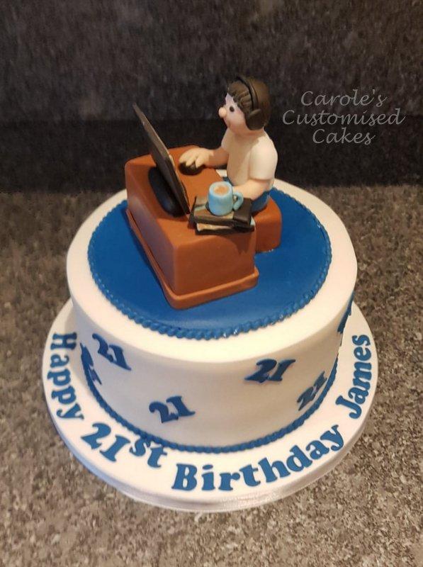 gaming cake