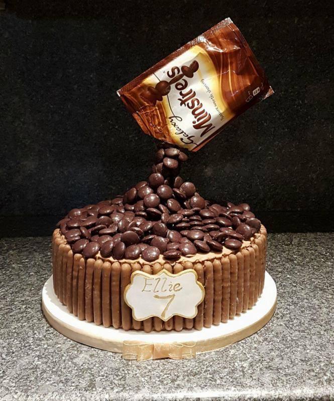 Minstrels antigravity cake