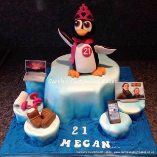 penguin 21st birthday cake.jpg